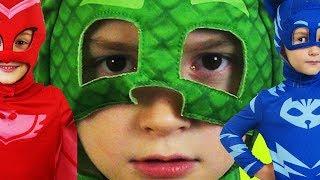 Герои в масках против клоуна ПРИКЛЮЧЕНИЯ ДАВИДА PJ маски победили ВИДЕО ДЛЯ ДЕТЕЙ