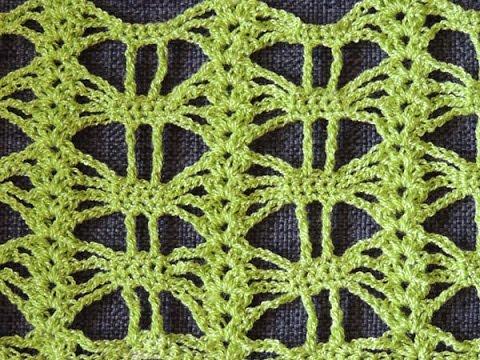 Crochet: Punto Calado # 25 - YouTube