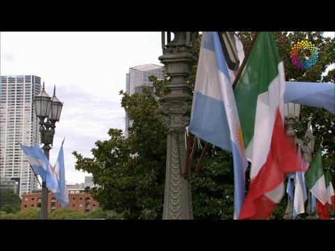 El presidente Mauricio Macri recibió al presidente del Consejo de Ministros de la República Italiana