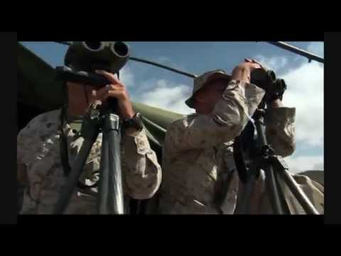 USMC Scout Sniper Face to Face with Rattlesnake