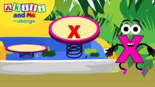 Learn Letter X! | Tнe Alphabet with Akili | Cartoons for Preschoolers