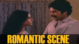 Mammootty and Seema Romantic Scene ||  Sandhyakku Virinja Poovu