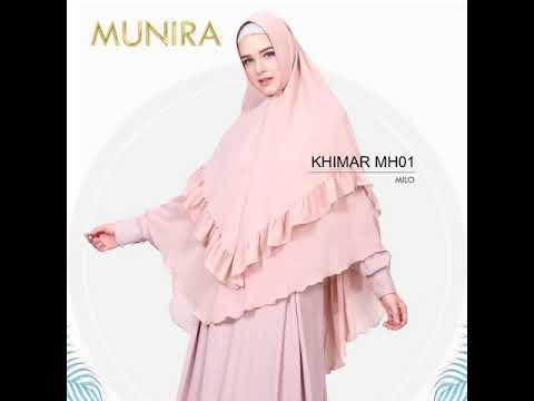 Model Jilbab Hijab Kerudung Khimar Syari Polos Terbaru Mh01 Munira Khimar Bahan Sahara Youtube