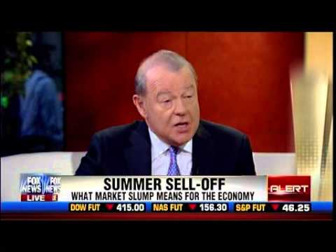 Summer Sell-Off – What Market Slump Means For The Economy – Stuart Varney – Fox & Friends