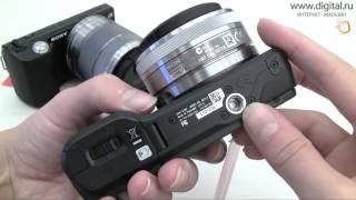 видеообзор фотокамеры Sony Alpha NEX-5/NEX-3