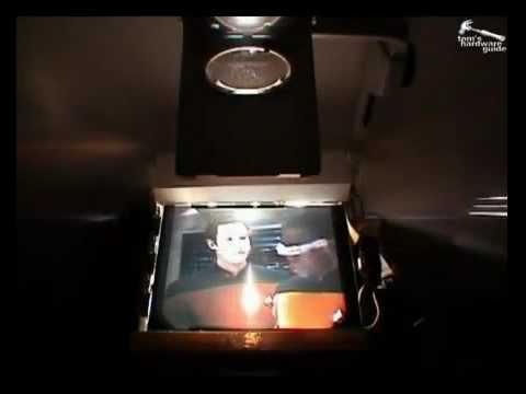Tự làm máy chiếu từ màn LCD cũ - MAYCHIEUNHAPKHAU.COM