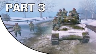 Call of Duty United Offensive Gameplay Walkthrough Part 3 - American Campaign - Chateau Defense
