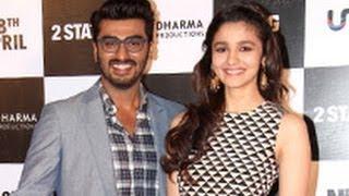 Arjun Kapoor, Alia Bhatt at '2 States' Trailer Launch | Karan Johar, Abhishek Varman