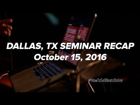 How To Sell Beats Online Seminar - Dallas, Texas