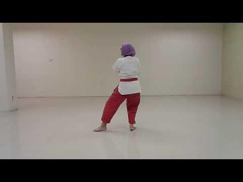 Latihan Taekwondo : Kibon 3 untuk Sabuk Kuning Strip. 3rd Basic Form Taekwondo Yellow Belt