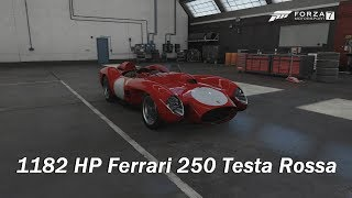 How Fast Will It Go? 1957 Ferrari 250 Testa Rossa (Forza Motorsport 7)