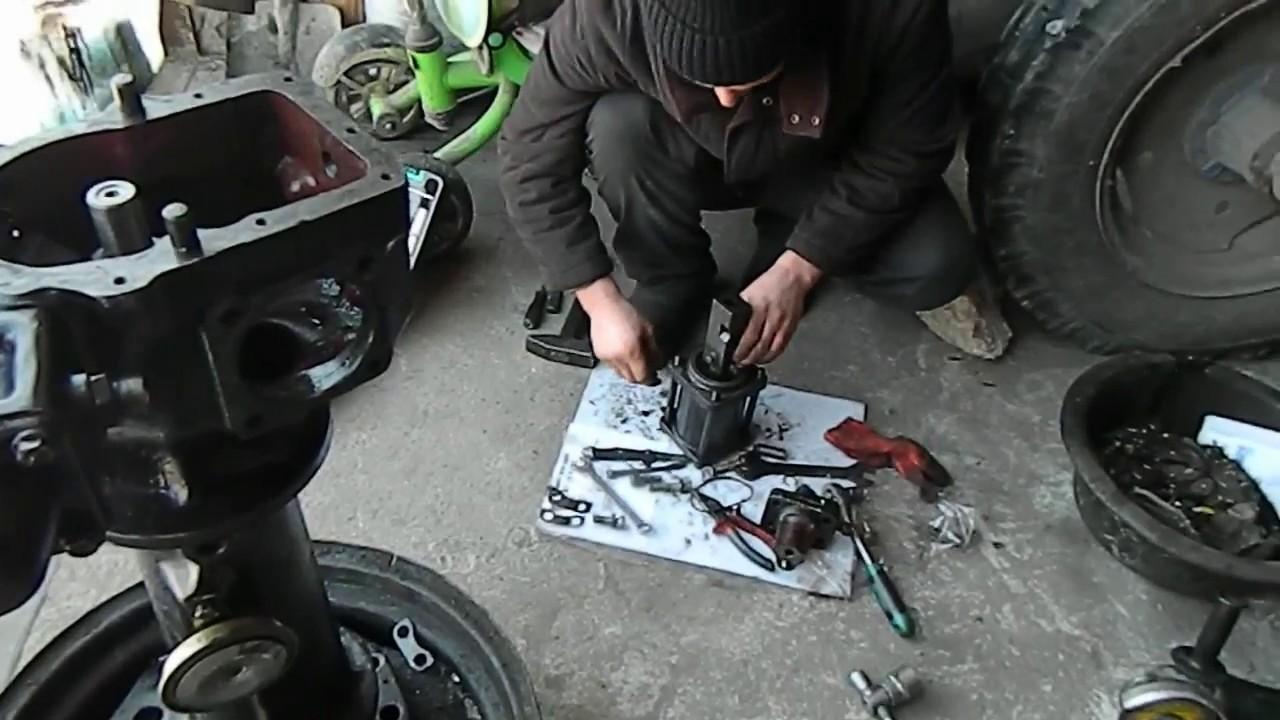 Ремонт рулевой колонки.Как ремонтировать гидроуселитель МТЗ.Советы мастера.