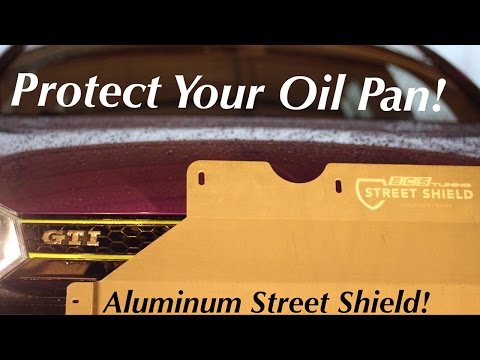 ECS Tuning Aluminum Skid Plate | VW GTI