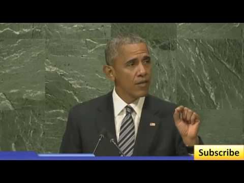 Toeic 78 President Obama Speech in UN General Assembly 9 20 16 Sept 20 2016