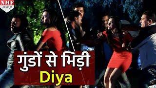 Diya ने की गुंडों की पिटाई | Rishta Likhenge Hum Naya - 22nd February 2018