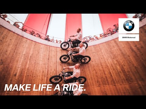 BMW Motorrad Days 2017: World premiere at the wall of death