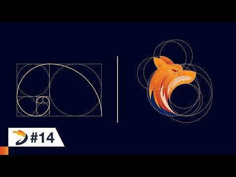 Adobe Illustrator Tutorial | Fox Logo Design Using Golden Ratio thumbnail