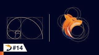 Adobe Illustrator Tutorial | Fox Logo Design Using Golden Ratio