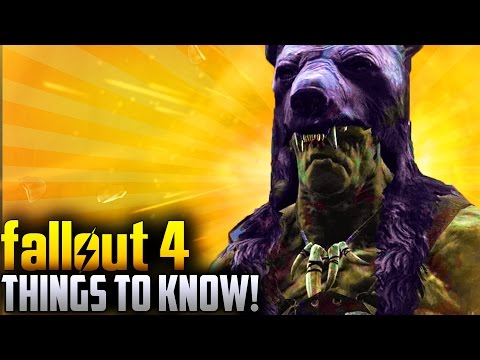 Fallout 4 Far Harbor DLC - 4 THINGS YOU MAY NOT KNOW! (Secrets,Recipes,Buying Wolves & More)