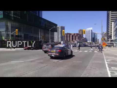 Canada: Four feared dead after van hits pedestrians
