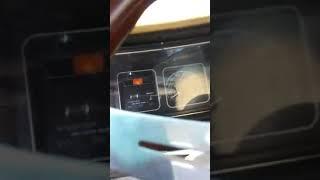 Lowrider box caprice on the freeway