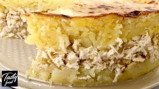 Картофельная Запеканка с Курицей! Простой и Вкусный Рецепт!