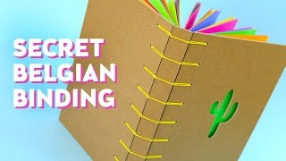 DIY Secret Belgian Bookbinding | Sea Lemon