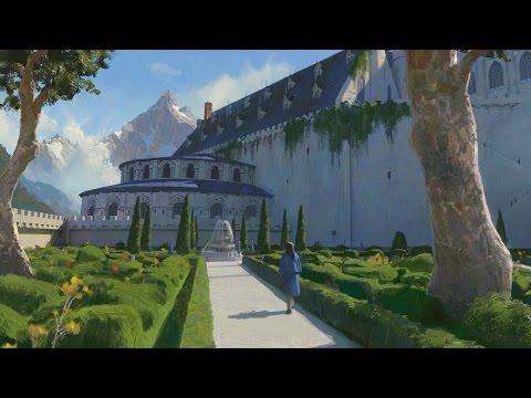 Beauxbâtons Academy of Magic - Digital Painting