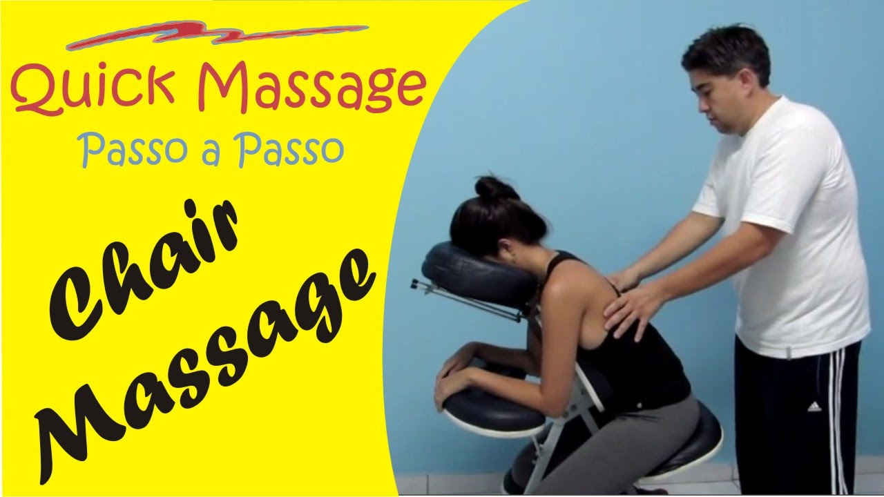 Chair massage therapy - Chair Massage Routine Complete Massage
