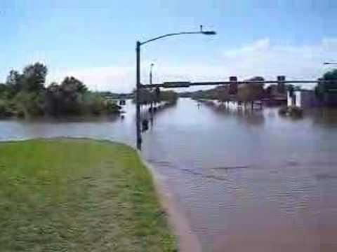 Hawkeye Court Coralville Iowa City Flood