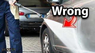 Washing Your Car? You're Doing It Wrong