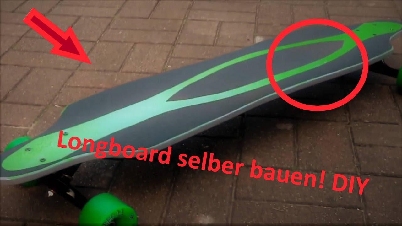 Build your Longboard Deck Tutorial + Template PDF German ...