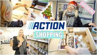 Im ACTION shoppen 🛍 | XXL Bastelzeug & Leonas Schreibtisch | Isabeau