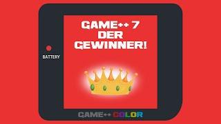 Die Gewinner - Game++ 7 - Community Challenge #gppcc7