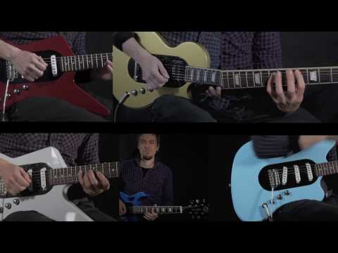 All Guitars in one - The Pons Revolution Multi-one Visionary Project
