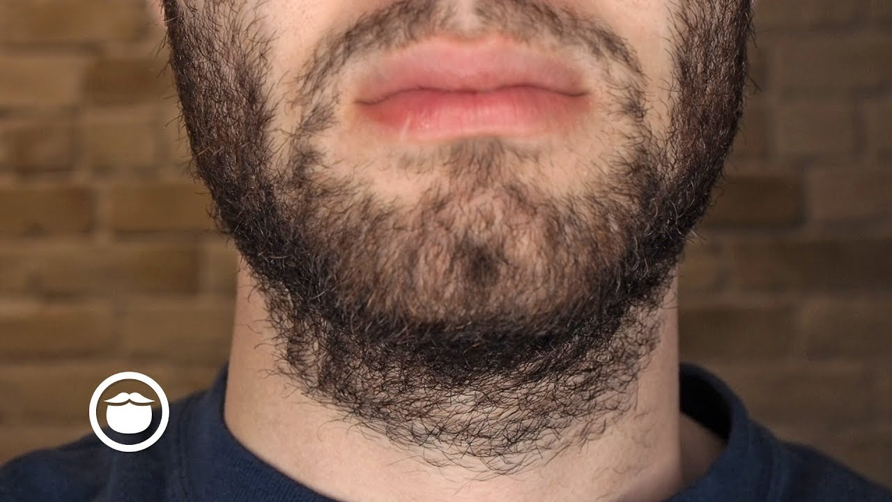 Slow growth of facial hair