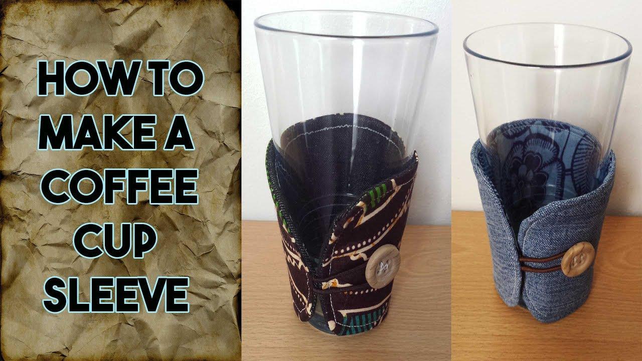 Diy Coffee Cup Sleeve Free Pattern Craftbrulee