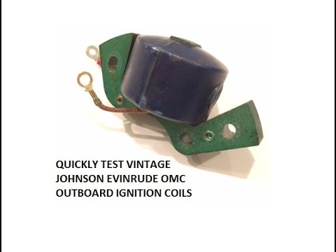 Test Outboard Ignition Coil - YouTube