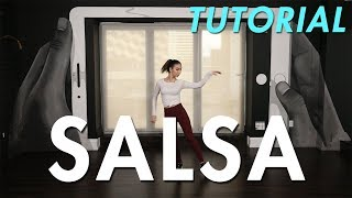 How to Salsa: Individual Salsa Step (Ballroom Dance Moves Tutorial) | MihranTV