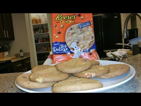 How To Bake Reese's Pieces Pillsbury Peanut Butter Cookies