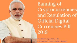 Bill on Crypto Ban and BJP Win.