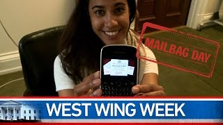 "West Wing Week 08/22/14 or, ""The Summer Social Media Mailbag Edition"""