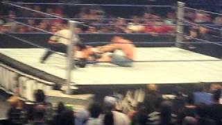 John cena vs randy orton breaking point Randy say I Quit.