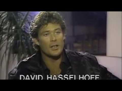 "David Hasselhoff,  ""Knight Rider"", Michael Knight with ""Kitt"""