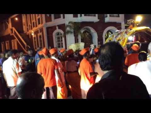 Hindu festival at Panjim, Goa, India 6 February 2017