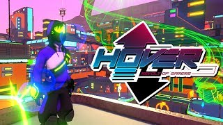 JET SET RADIO FUTURE 2! | Hover: Revolt of Gamers Gameplay