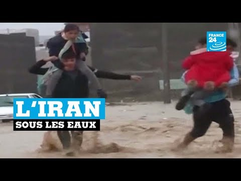 Inondations en IRAN : Au moins 62 morts