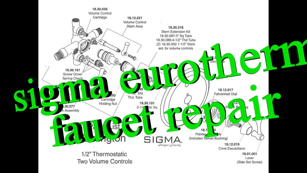 Sigma Eurotherm Sigmatherm 00_96.40 temperature problem - YouTube