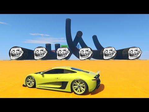 CARRERA TROLL!! TUBOS TROLL!! - CARRERA GTA V ONLINE - GTA 5 ONLINE