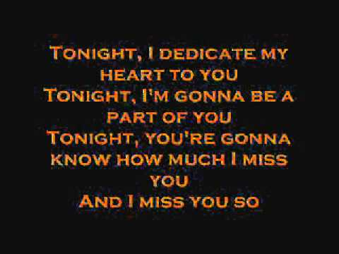 Westlife Tonight with Lyrics